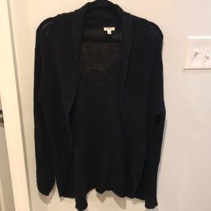 Nordstrom's BP Black Basic Cardigan